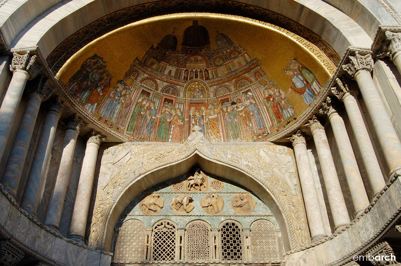 Saint Mark's Basilica - exterior detail