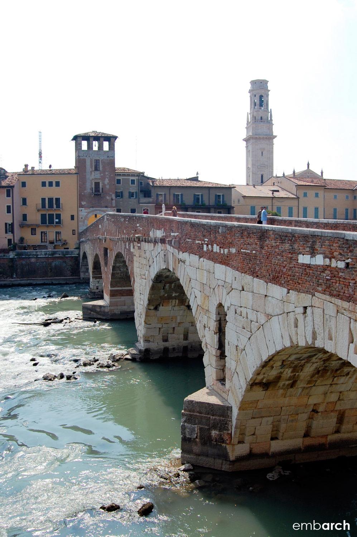 Ponte Pietra, Verona, Italy