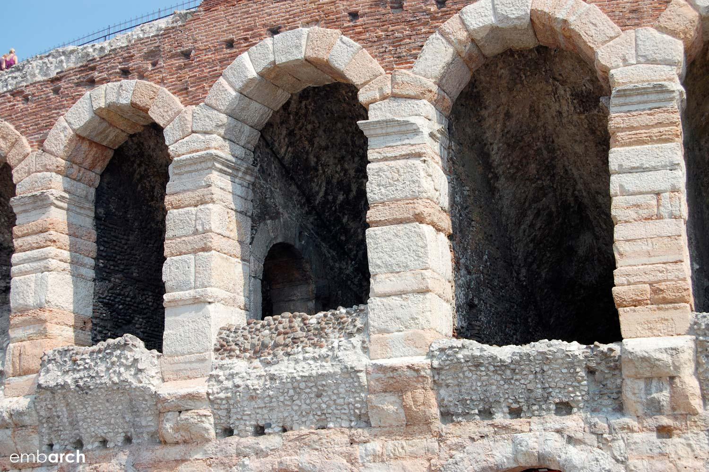Arena di Verona (Arena Verona) - exterior detail
