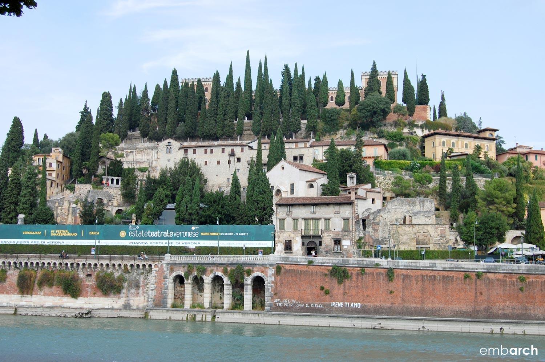 Teatro Romano di Verona (Roman theater of Verona), Verona, Italy