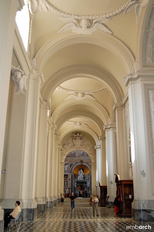 Papal Archasilica of St. John Lateran - interior sideaisle