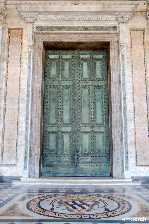 Papal Archasilica of St. John Lateran - exterior detail