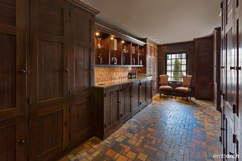 Sky-Line Club, interior view of bar