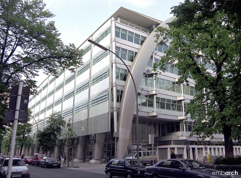Berlin Stock Exchange - view of building exterio