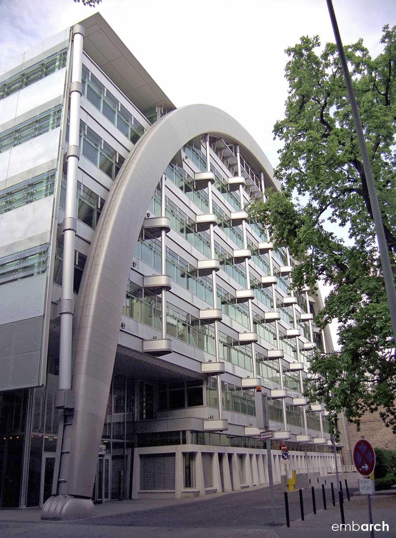 Berlin Stock Exchange - view of building exterior