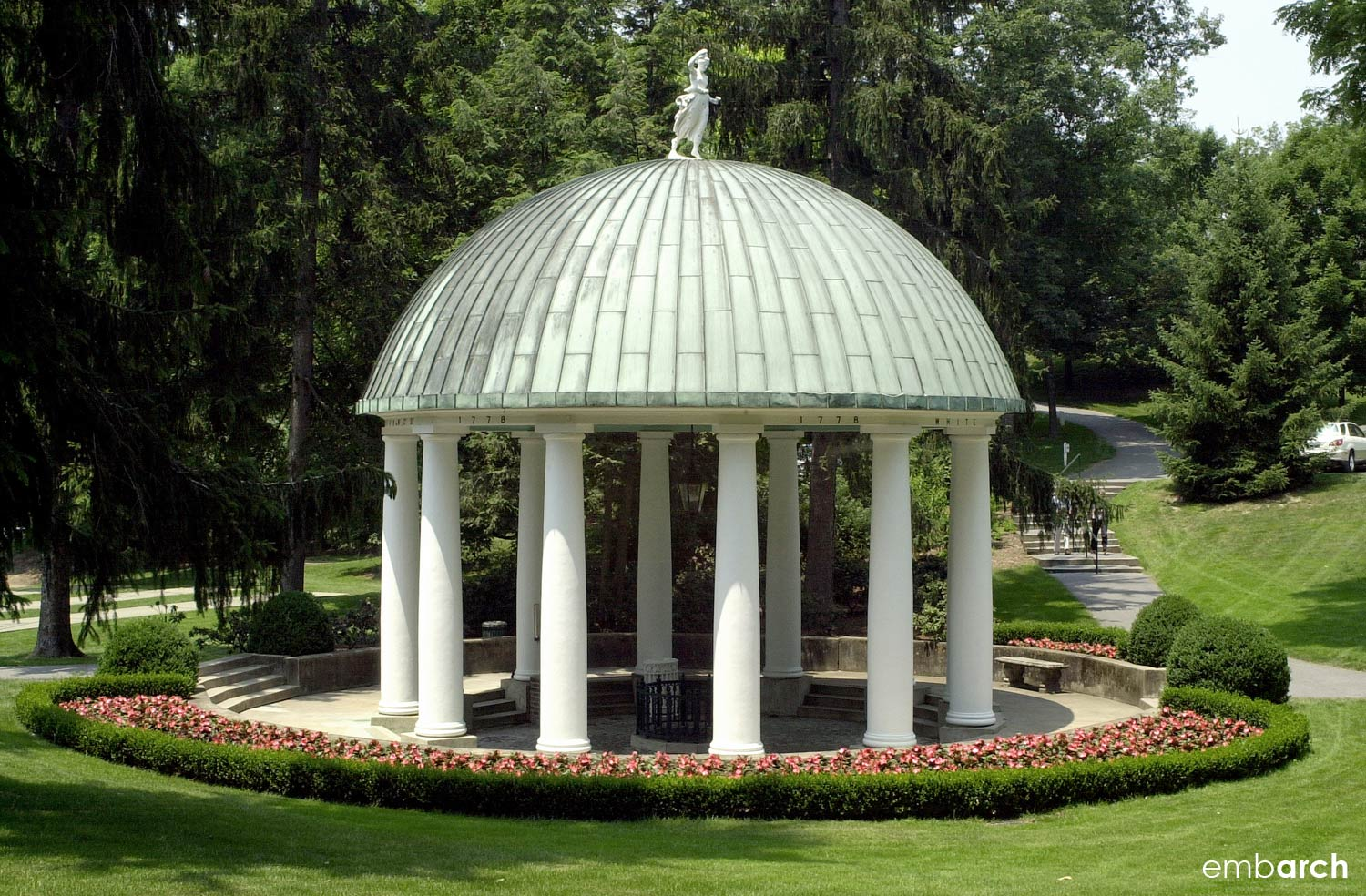 Greenbrier - gazebo