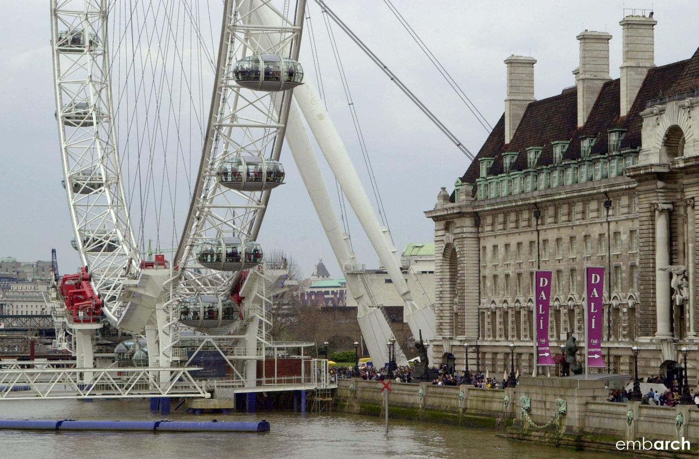 London Eye - River view