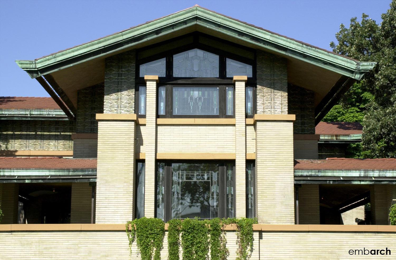 Dana-Thomas House - exterior
