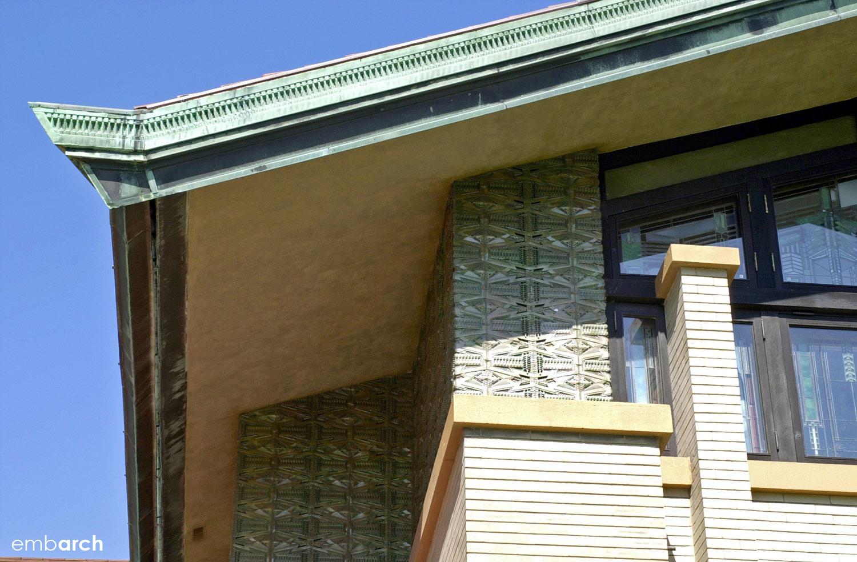 Dana-Thomas House - exterior detail