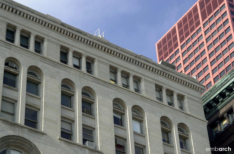 Auditorium Building - exterior detail