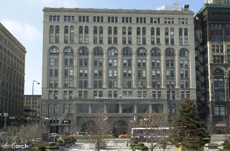 Auditorium Building - exterior