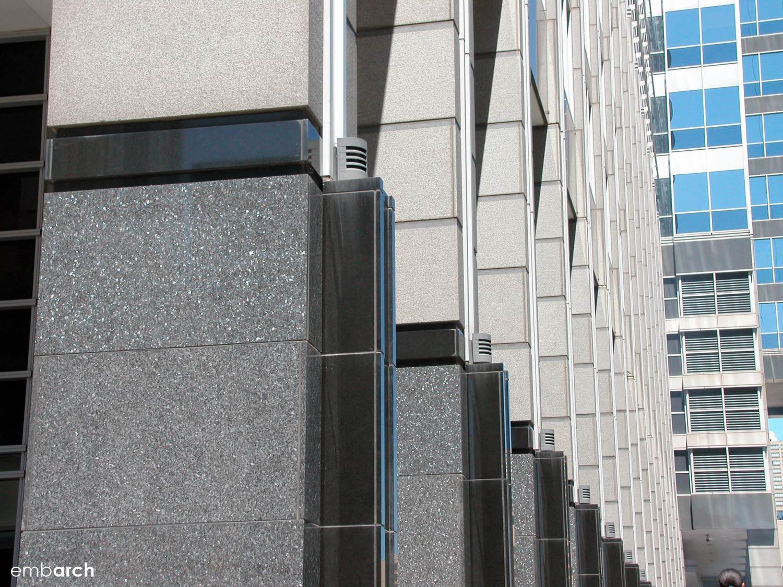 Boeing Building - exterior detail