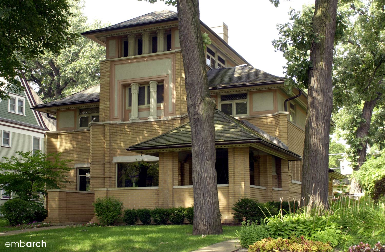 R Furbeck House - exterior