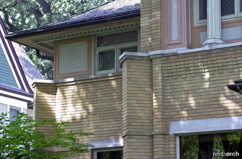 R Furbeck House - exterior detail