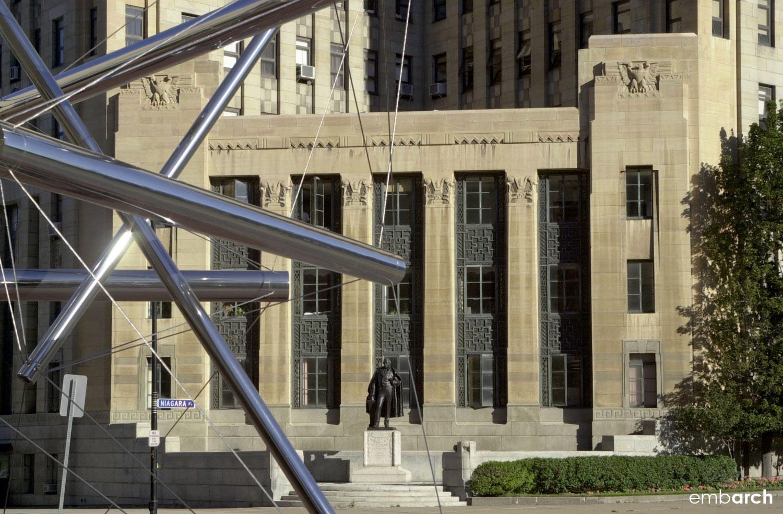 City Hall - exterior detail