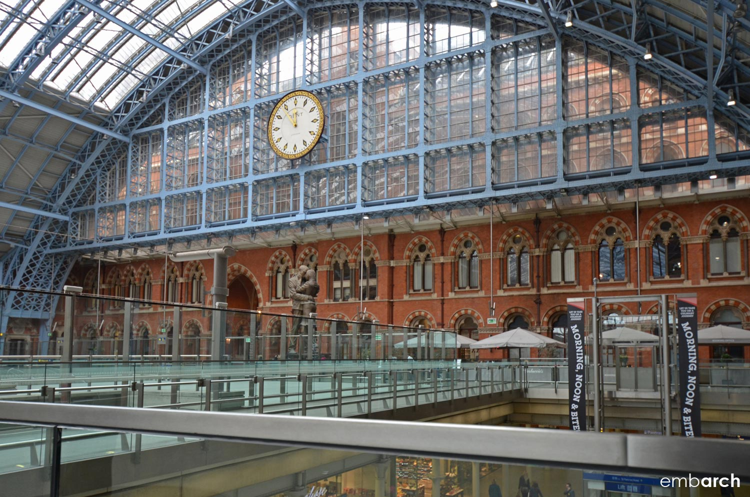 Find out more:   St. Pancras, London