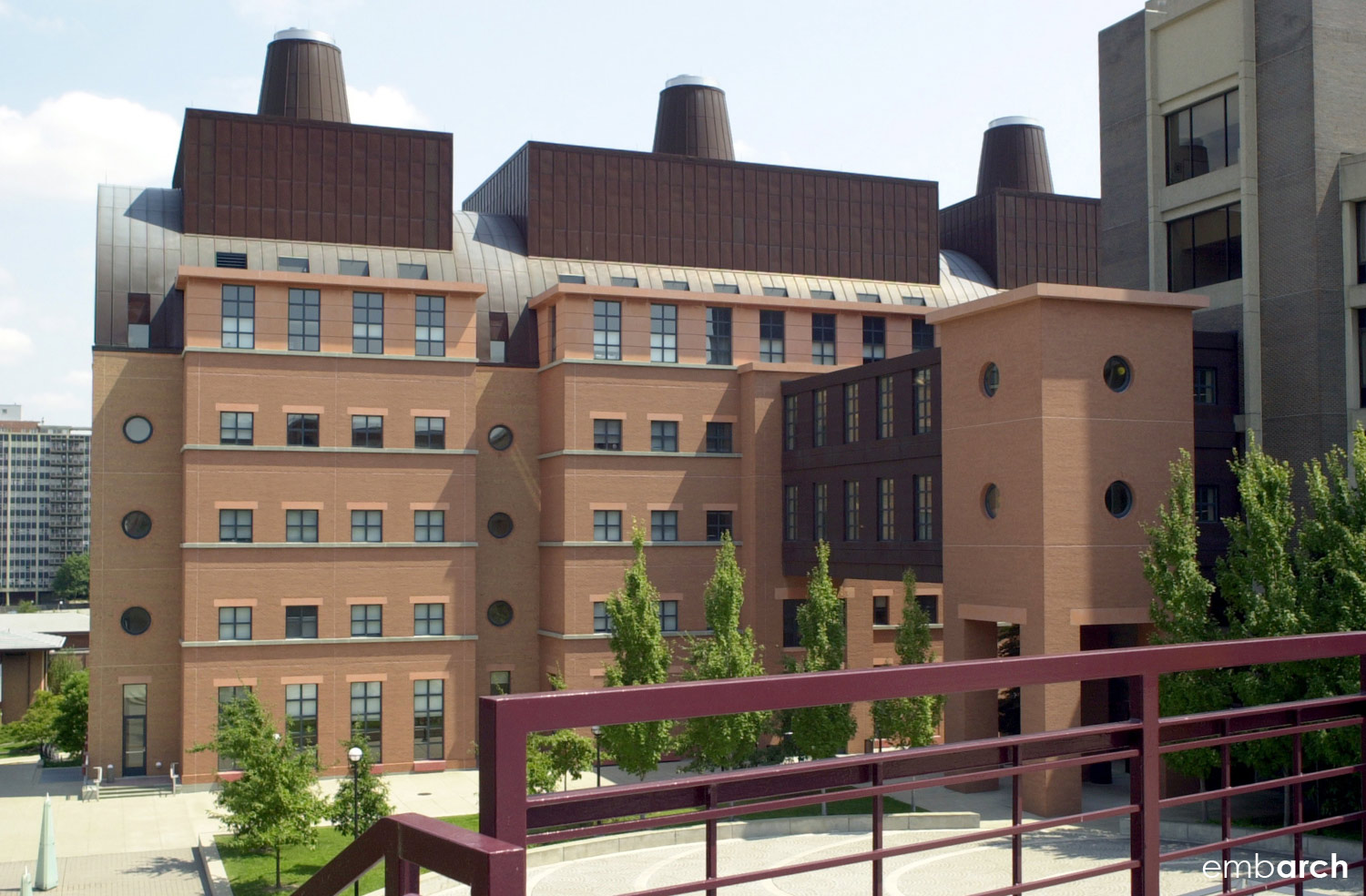 Applied Science Building at the University of Cincinnati
