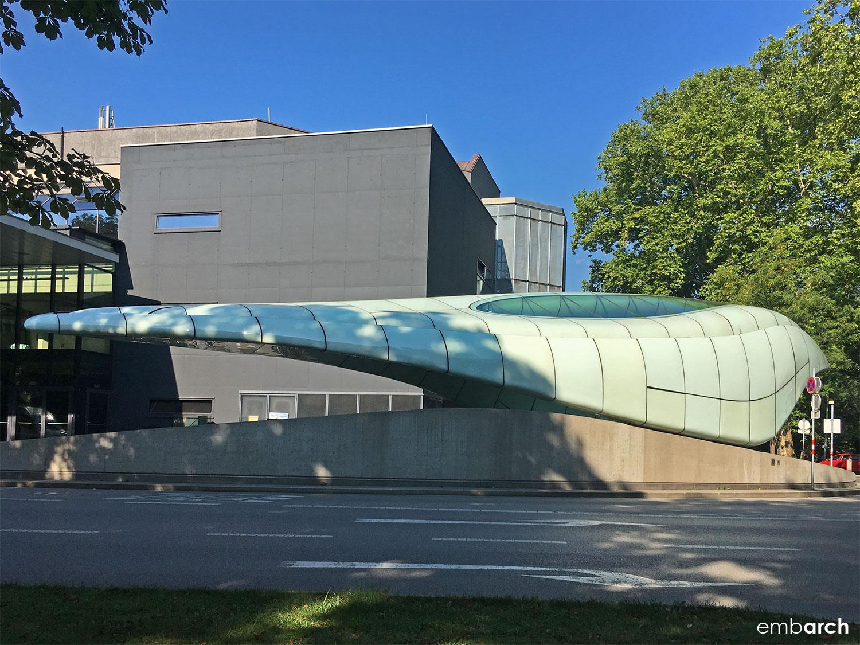 Congress Station - exterior