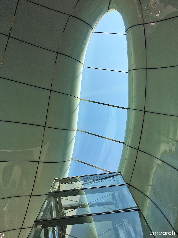 Congress Station - interior, skylight