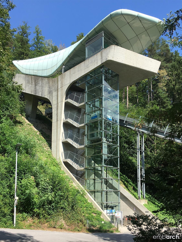 Alpenzoo Station - exterior