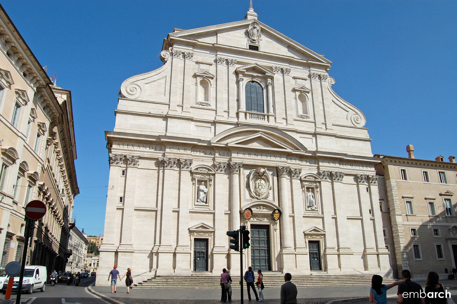 Find out more:   Church of the Gesù, Rome, Italy
