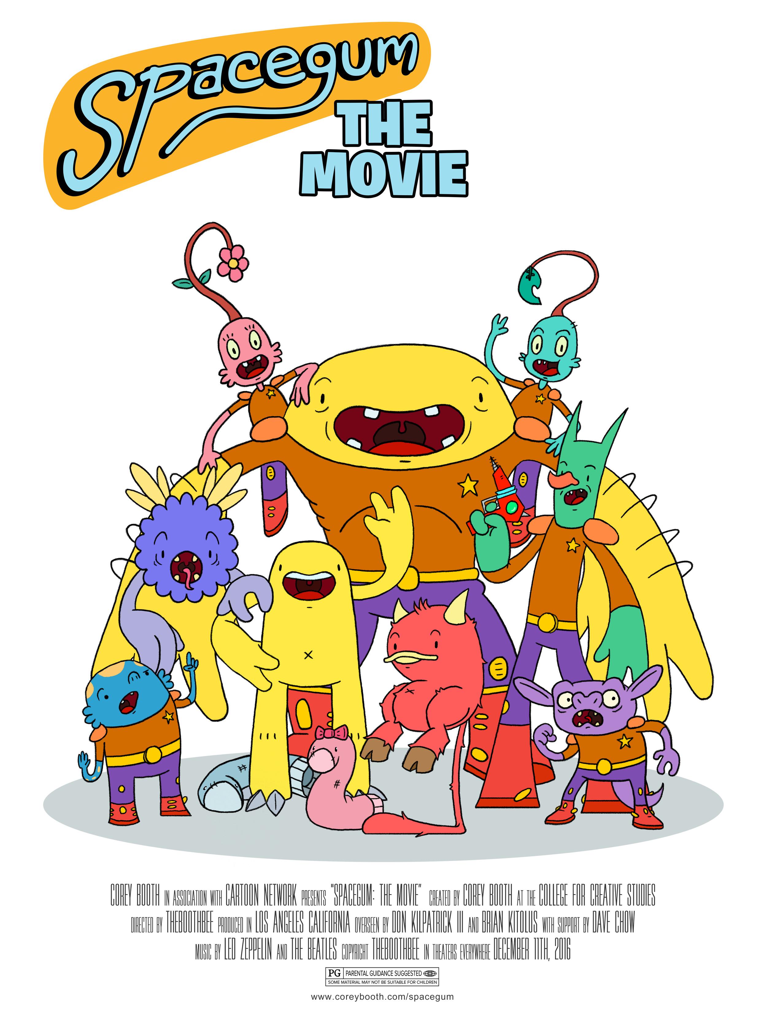 Spacegum: The Movie
