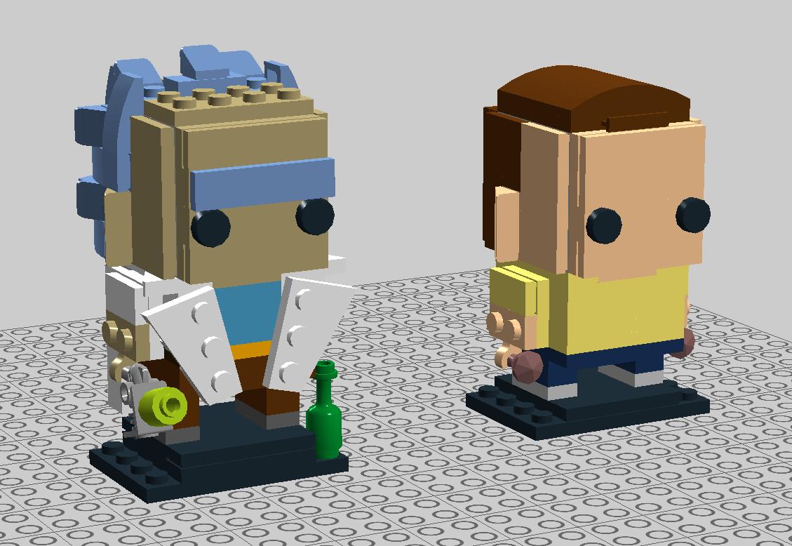 Close up: Rick And Morty