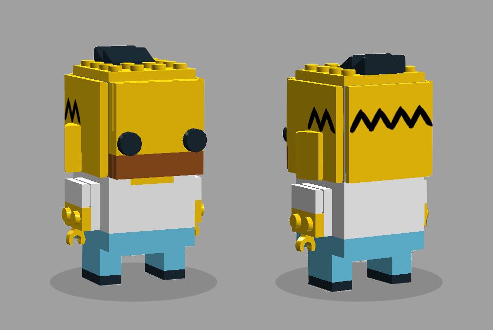 Homer Brickheadz