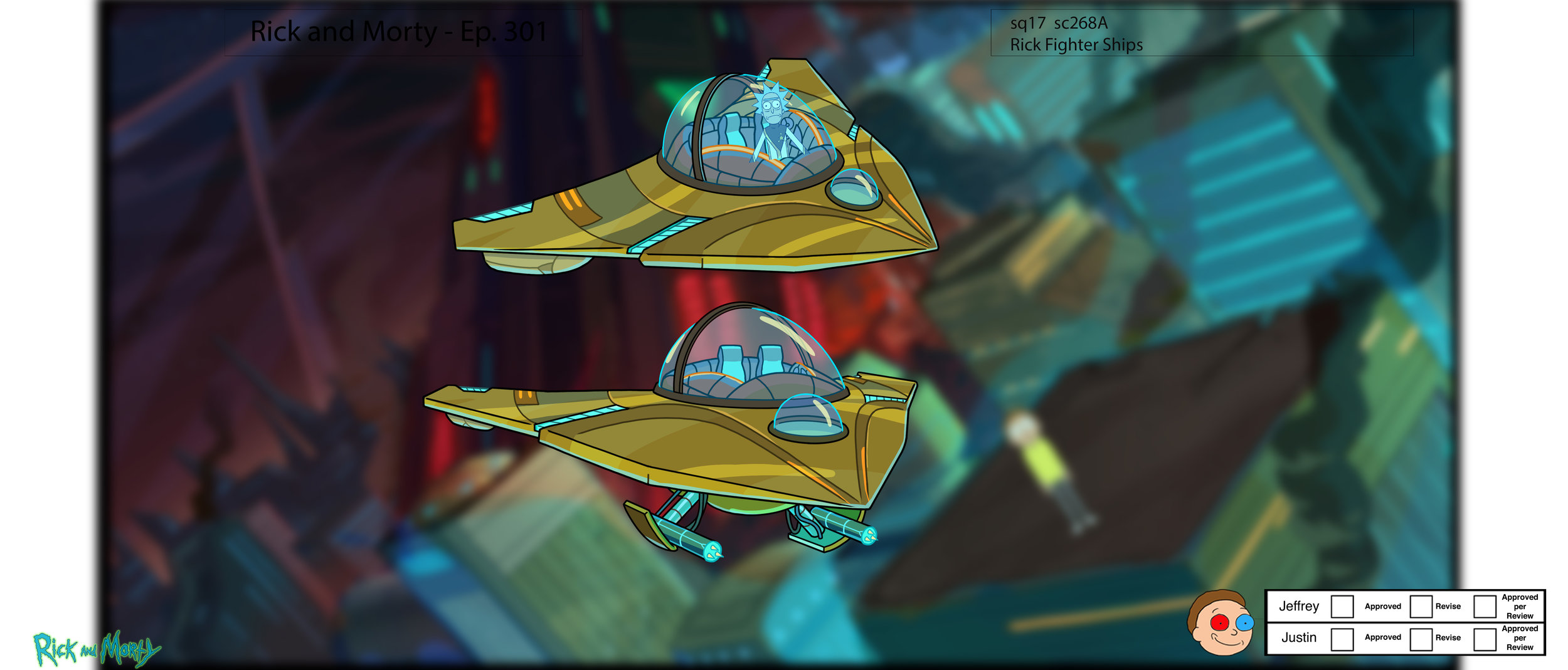 Rick Fighter Ship