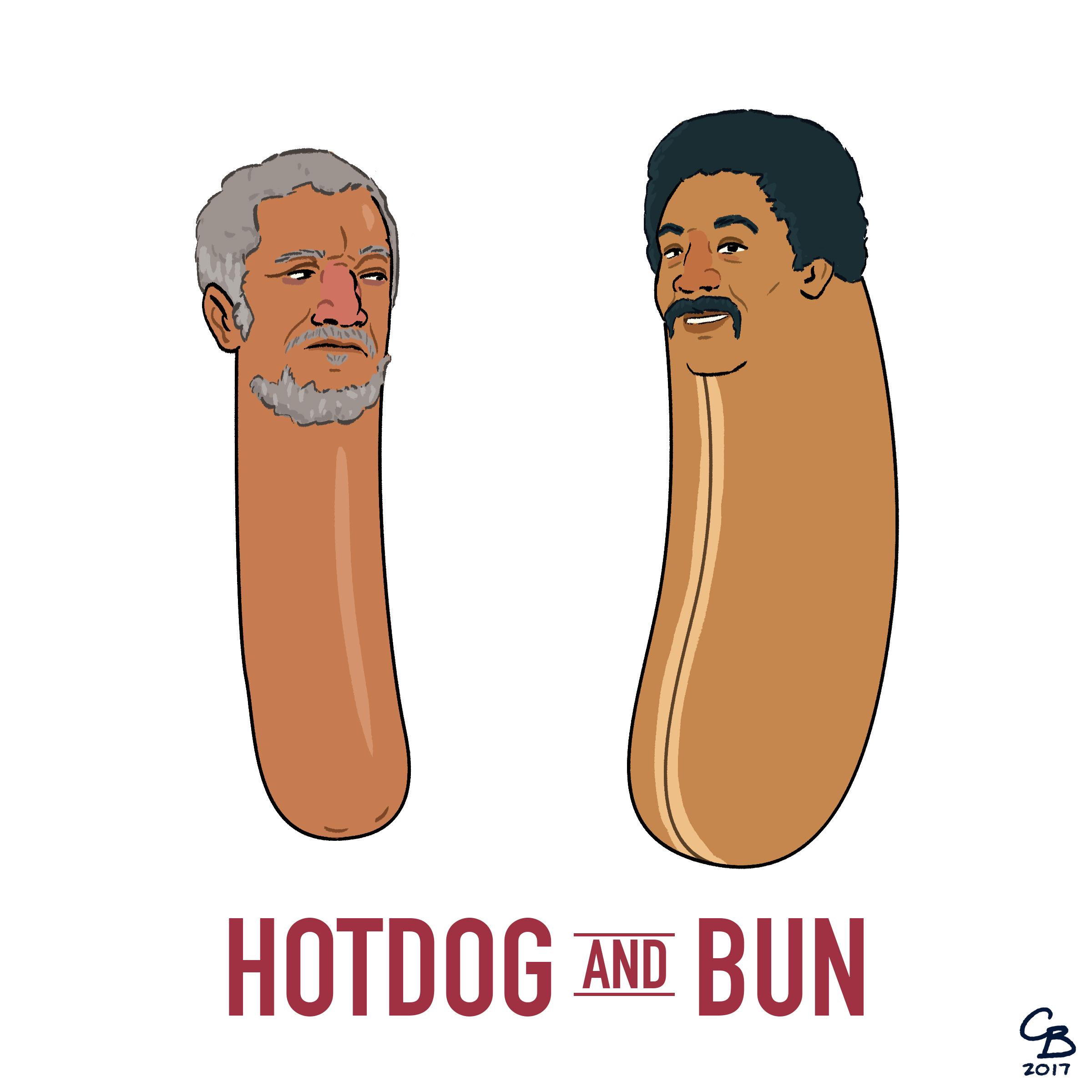 Hotdog and Bun.