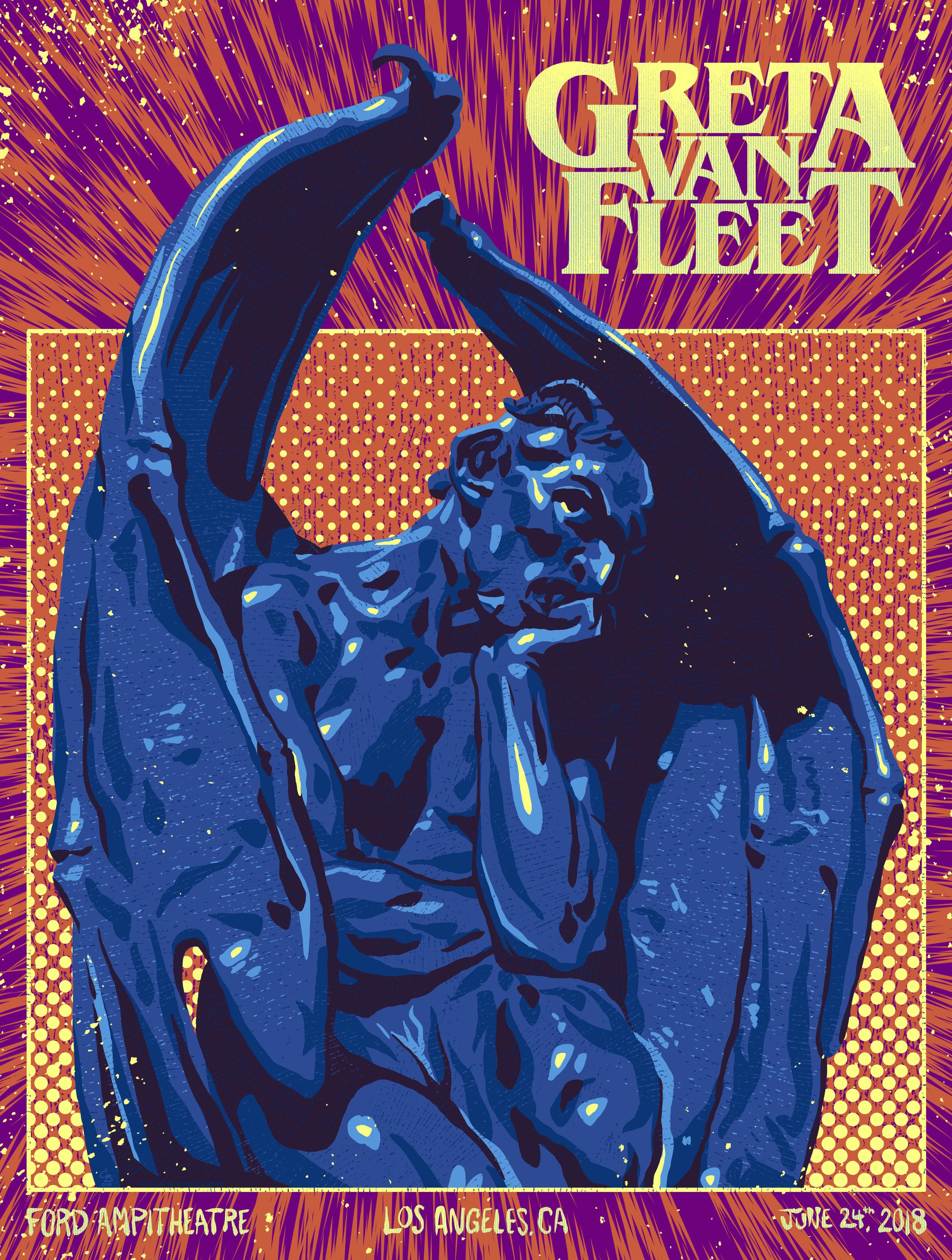 Greta Van Fleet - Feeling Blue Variant