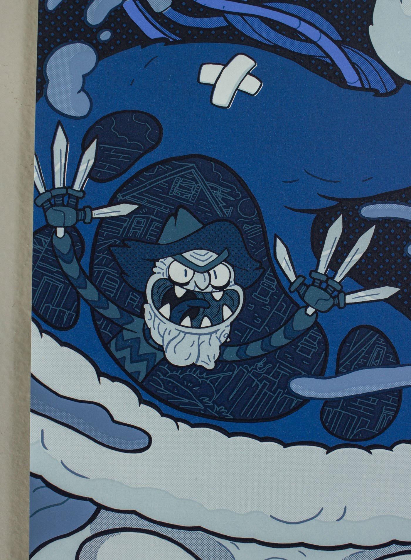 Rick and Morty: Season 1 - Artist Variant (Detail Shot)