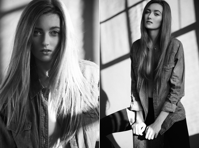 Michael Populus Photography photographs model Katie Juergens