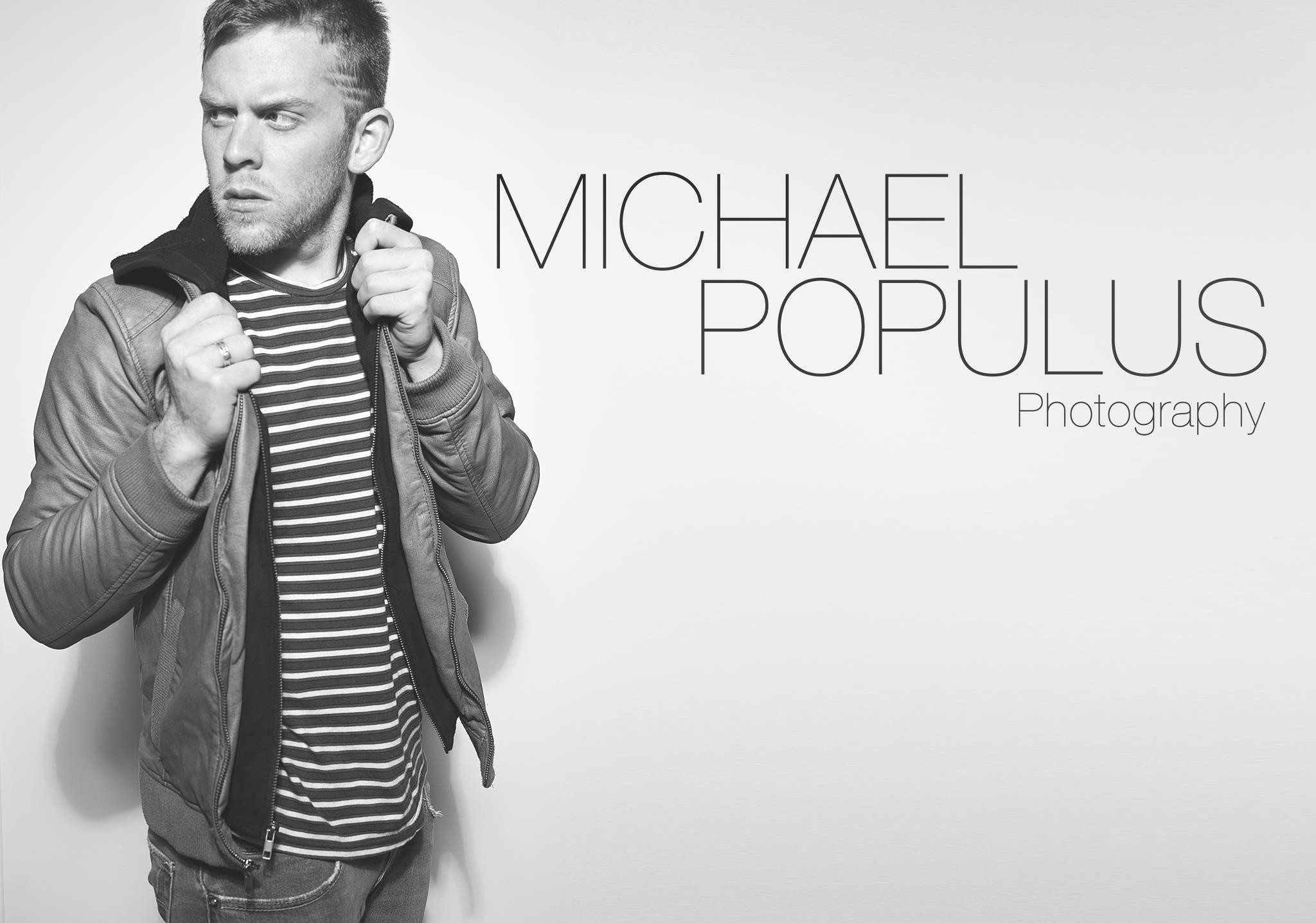 Mandeville Photographer Michael Populus photographs himself