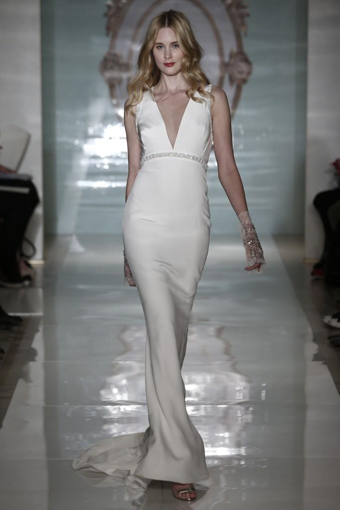 Reem Acra gown.