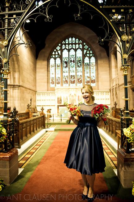 Bespoke / Custom-Made Bridesmaid Dress for Liverpool Woolton Wedding by Jessica Bennett Bespoke Bride