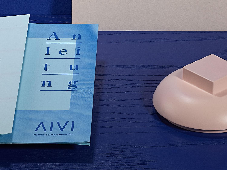 Logo auf blau-weissem Briefbogen