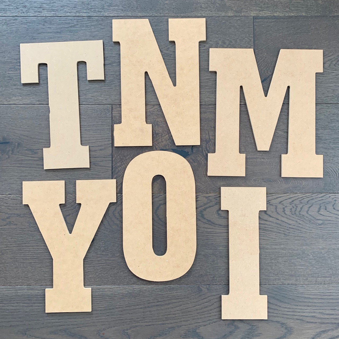 $4 each - Largest letter measures 9.5 inches by 10..75 inches - Letter's available I, Y, L, W, H, S, C, M, T, N, O These would be cute in the wood frames I am showing above. Price includes being painted or stained a colour to match your decor