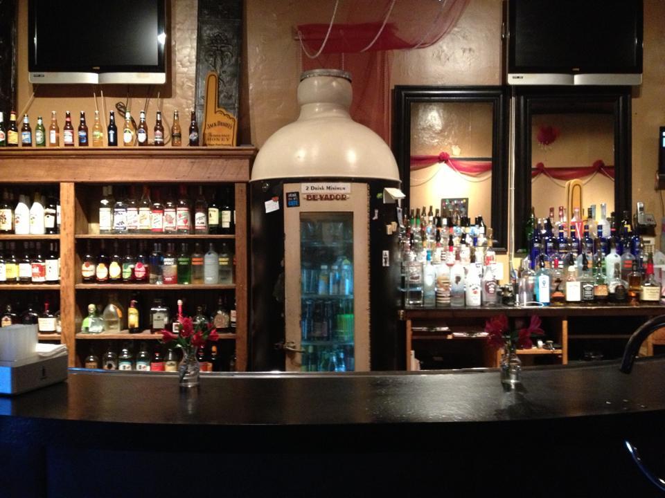 Interior of the Korner Lounge