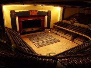 Interior of the Municipal Auditorium