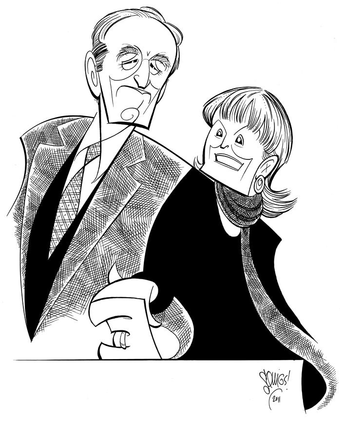 Arthur and Barbara Gelb.
