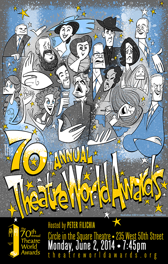 The Theatre World Awards poster, 2014