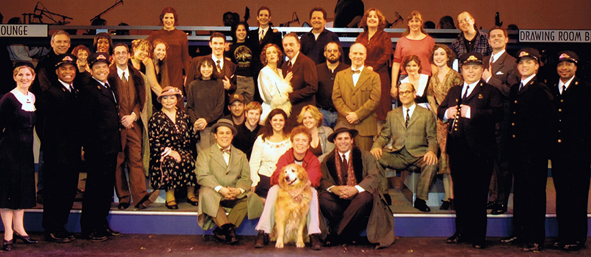 The cast and creatives of Reprise's 2003 production of   On the 20th Century  .