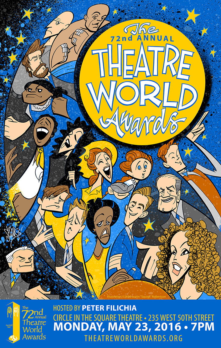 The Theatre World Awards poster, 2016