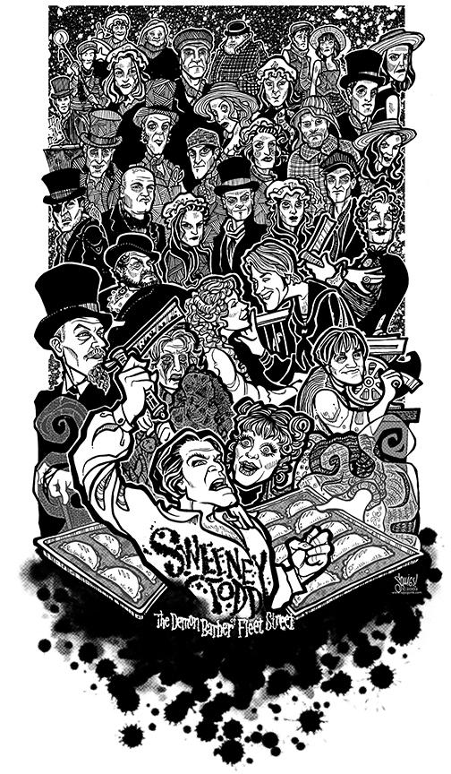 Sweeney Todd   (2002) Performance Riverside, starring Norman Large, Debbie Prutsman, Doug Carfrae, Roger Befeler, Kristi Holden