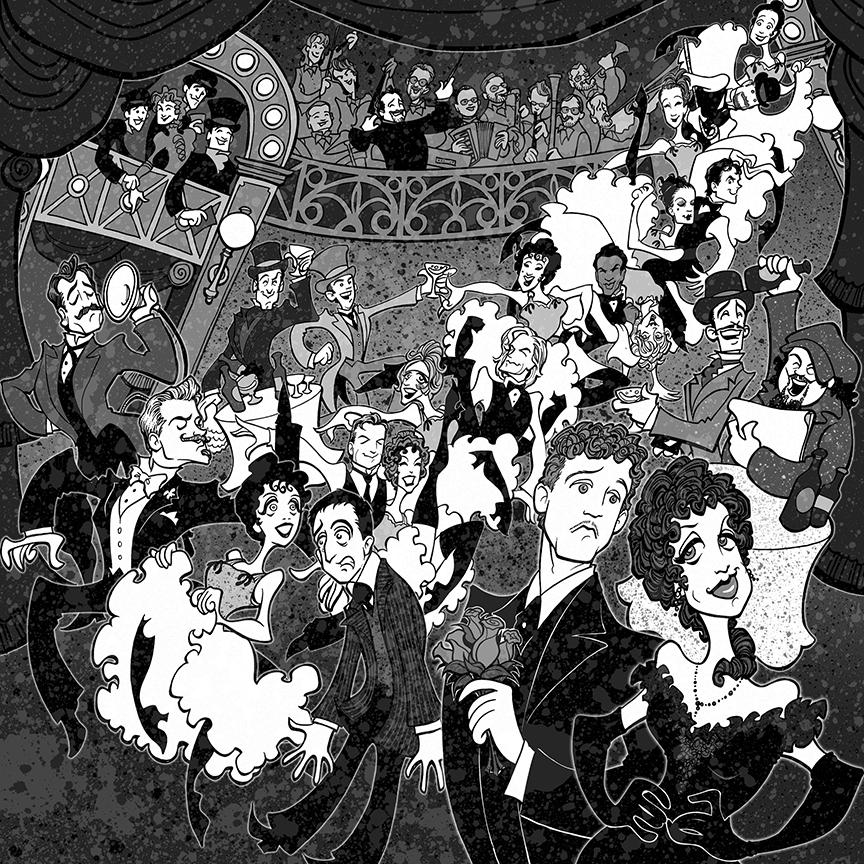 Can-Can   (2007) The Pasadena Playhouse, starring Michelle Duffy, Kevin Earley, David Engel, Amir Talai, Yvette Tucker, Jeffrey Landman, Squigs