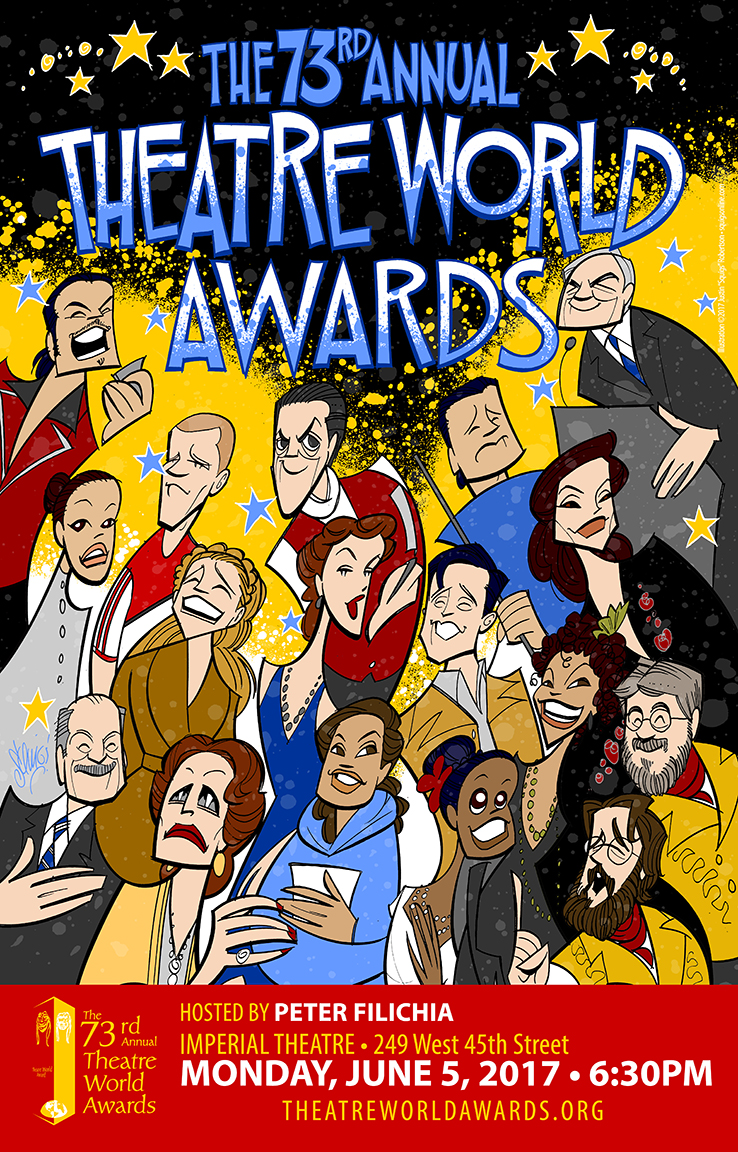 The Theatre World Award poster, 2017