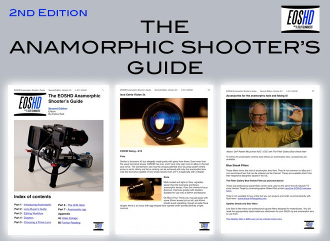 ARE YOU NEW TO ANAMORPHIC LENSES FOR HDSLRs? CLICK  HERE  TO READ THIS ARTICLE or OUR  BLOG.