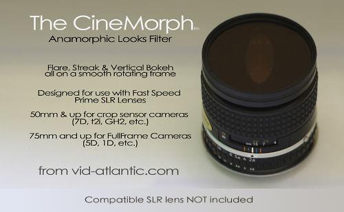 CineMorph - Anamorphic Bokeh & Flare Filters — Vid-Atlantic Media  Productions