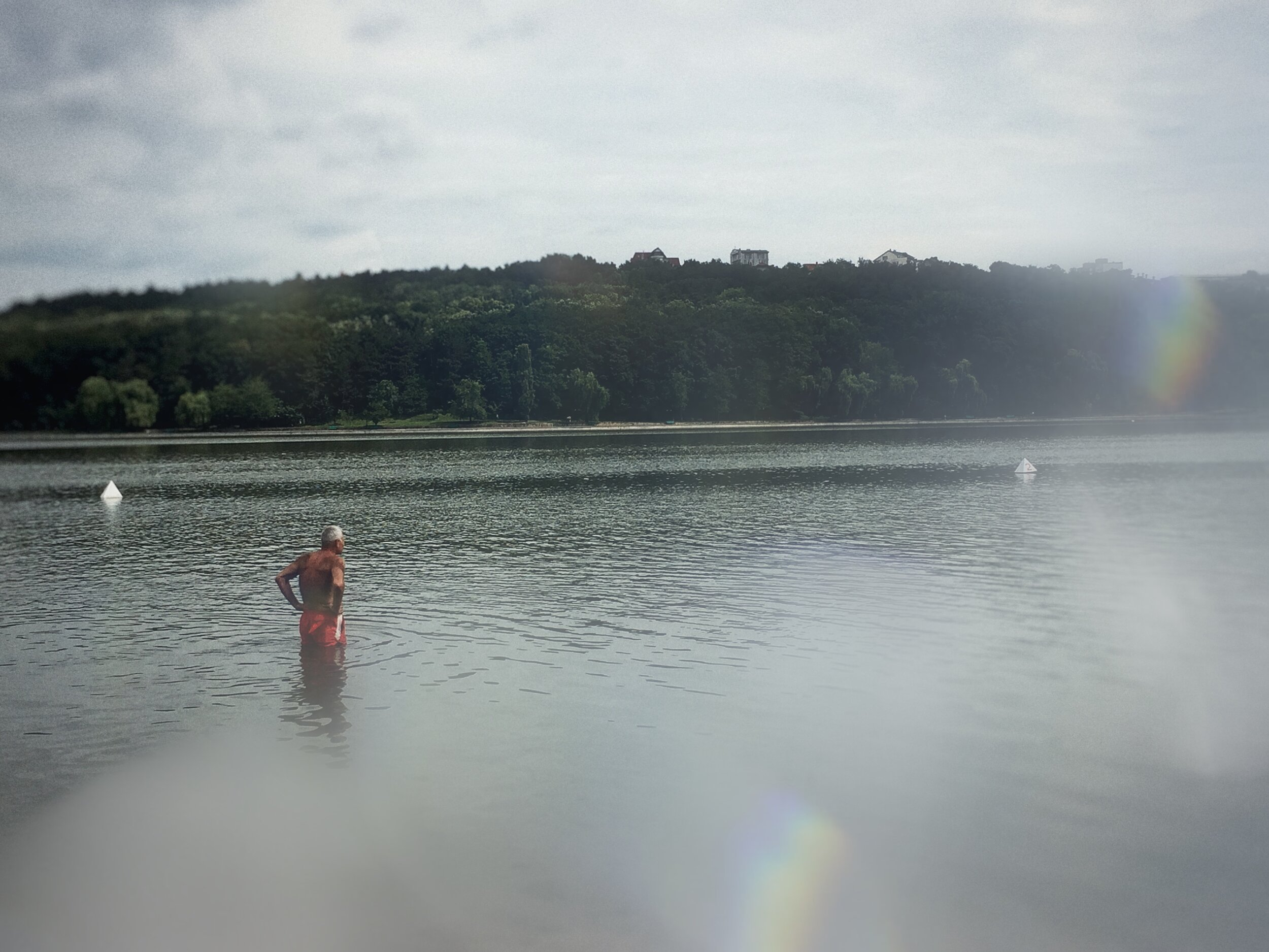 www.Vid-Atlantic.com Prisma Filter Man along in lake